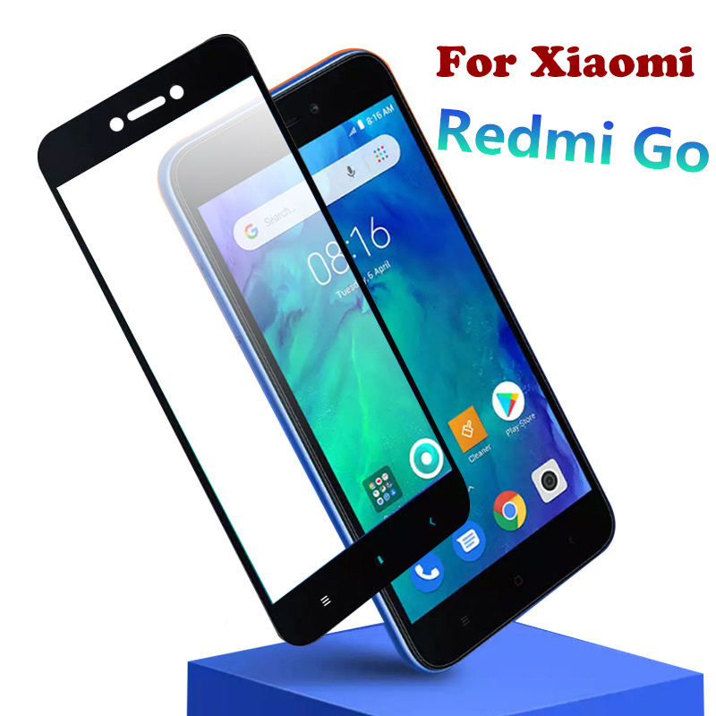 Protective-Film Screen-Protector Glass Full-Cover Xiaomi Redmi for Go-9h on Go-5.0inch