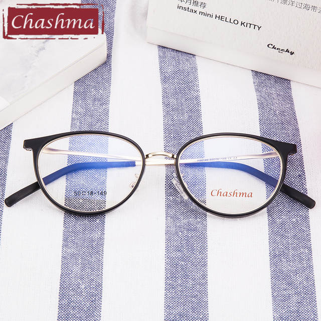 39cd4b518 Chashma Brand Trend Teens Eyeglasses Women Fashion Small Glasses Frames  Fresh Stylish Eyewear for Female-in Eyewear Frames from Apparel Accessories  on ...
