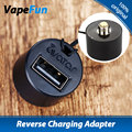 Original Avatar Reverse Charging Adapter Convert Pico Dual 510 Connection Into A USB Output Charge Adapter 510 To USB E Cigs