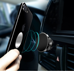 Image 5 - Magnetic Car Cell Phone Holder Automotive Air Vent Mount Phone Stand Magnet Auto Dashboard Smartphone Support Bracket Accessory