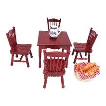Vintage Mini 1/12 muebles de casa de muñecas sillas de madera tallada miniatura accesorios para casa de muñecas juguetes para juego de imitación regalos M40 #