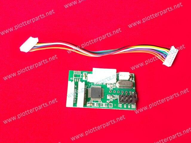 Chip decodificador para HP Designjet 100 110 120 111 130 30 70 90 500 800 510 compatível - Plotter parte