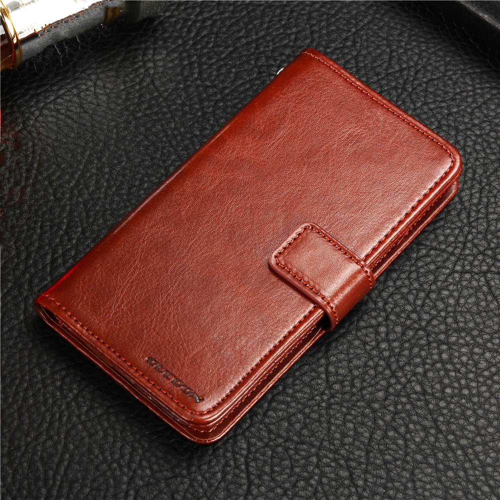 GUCOON Classic Wallet Case for Elephone A2 Pro Cover PU Leather Vintage Flip Cases for Elephone A2 Fashion Phone Bag Shield