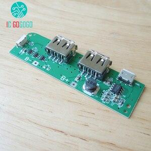 Image 2 - 5โวลต์1A 1.5A 8เซลล์แบตเตอรี่Power BankราคาDIYชุดPower Bankชาร์จS Tep Upเพิ่มโมดูลชาร์จแผงวงจร