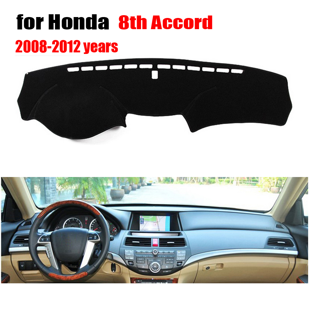 Car Dashboard Cover | Car Dashboard Cover For Honda Accord 2008 To 2012 Years Avoid Light Pad Instrument Platform Desk Pad