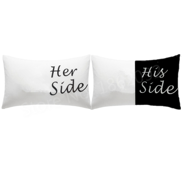 aliexpress buy hot his side side pillow cases