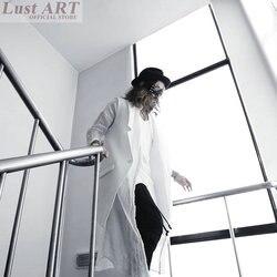 Men sexy fashion extra long vest new design luxury brand long vest men black white hip.jpg 250x250