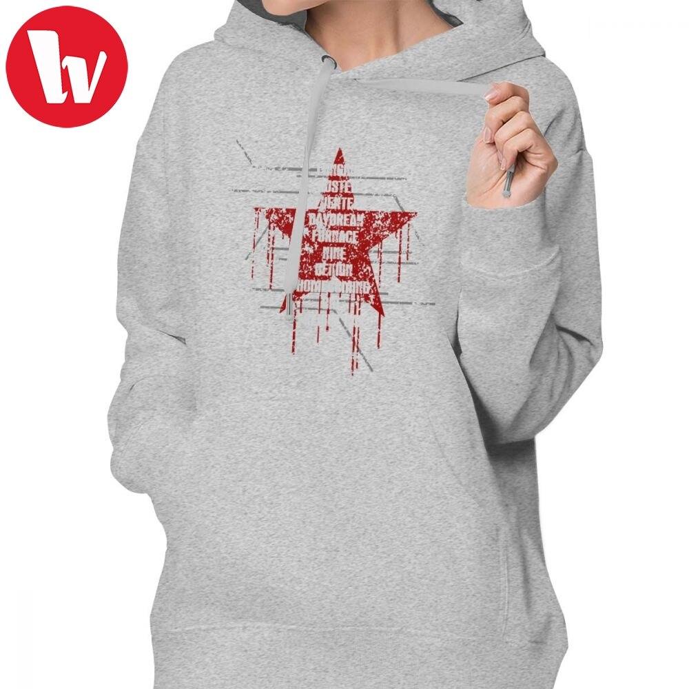 Sebastian Stan Hoodie Ready To Comply Hoodies Trendy Oversize Hoodies Women Long Sleeve Printed Street Wear Pullover Hoodie