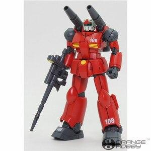 Image 2 - Bandai HGUC 190 1/144 Guncannon RX 77 2 OHS Reviver Mobile Suit Kits Modelo de Montagem