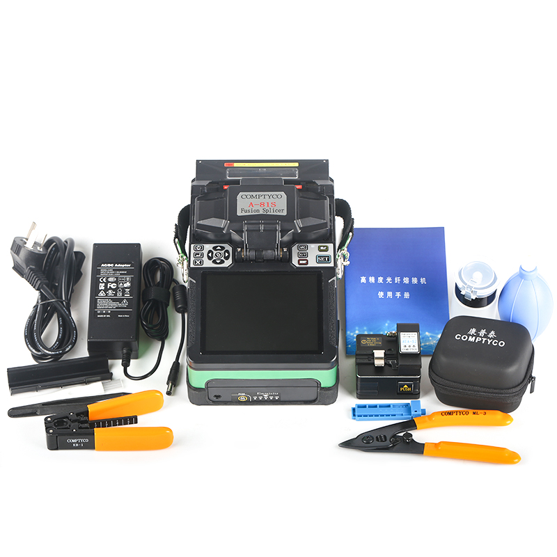 Image 3 - A 81S 2018 New product FTTH Fiber Optic Welding Splicing Machine Optical Fiber Fusion Splicer-in Fiber Optic Equipments from Cellphones & Telecommunications