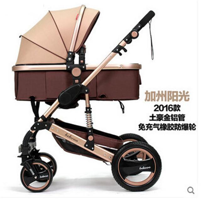 Carretilla plegable Cadeirinha Dobrável Mãe Transportadora Carrinho De Bebê Carrinho de Bebé carrinho de bebé Carrinhos de Bebê 3 em 1 reversível