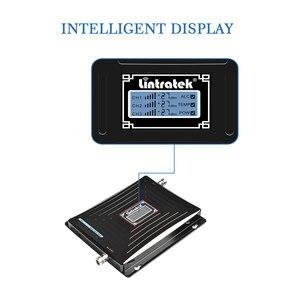 Image 4 - Lintratek starter skoku samochodowego 2G 3G 4G komórka wwmacniacz sygnału telefonu 2100MHz 1800MHz 900MHz potrójny zespół repeater sygnału telefonii komórkowej napęd @