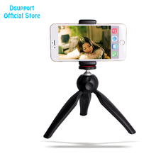 Mini Tripod M2 +C3 Phone Holder Clip Desktop Tripod M2 For Digital SLR Camera Cell phone Smart phone Mobile Phone