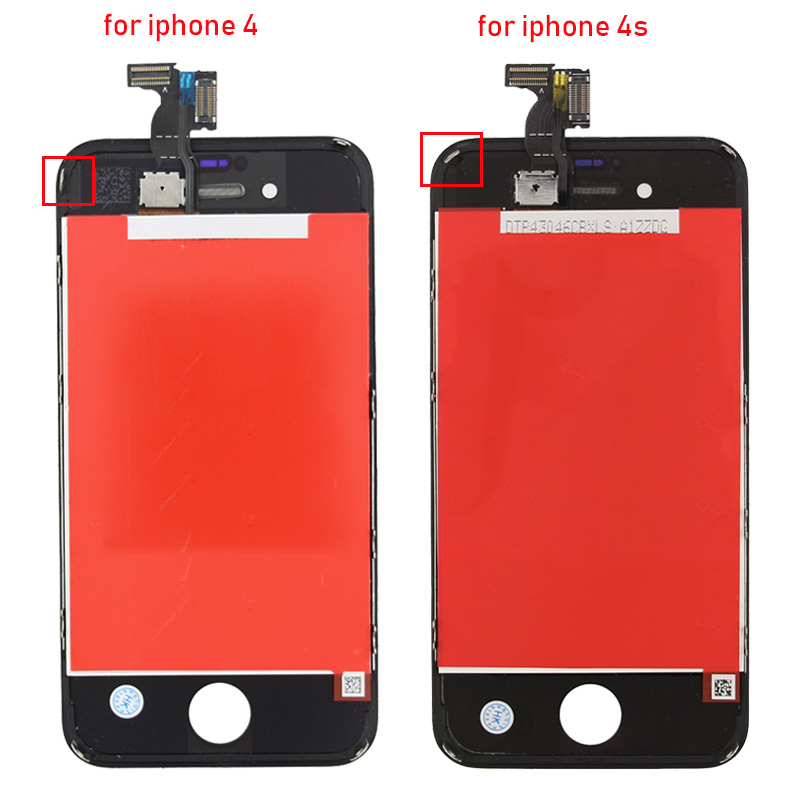 TRANSAID For iphone 4 Lcd Display replacement for iphone 4s screen in Mobile Phone LCD Screens from Cellphones Telecommunications