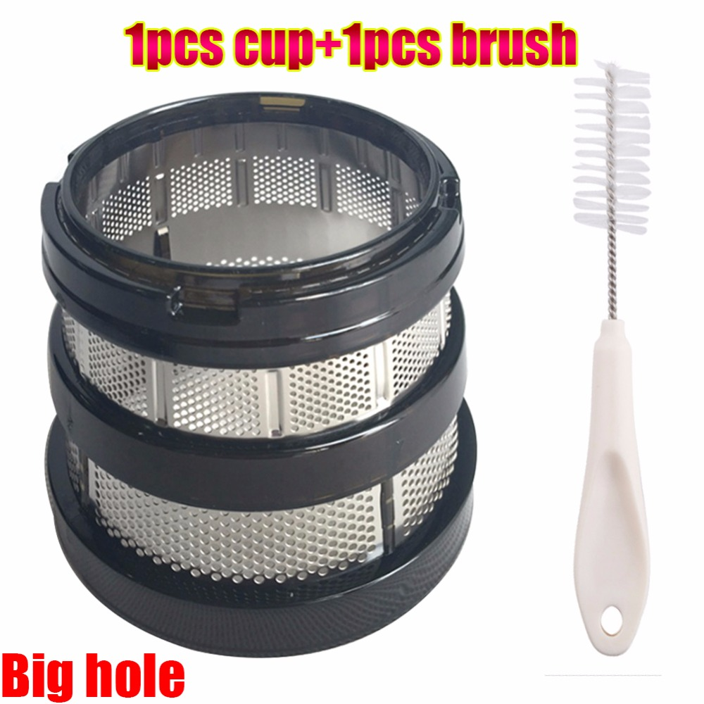 High quality juicer hurom blender parts fine filter for hurom hu-1100wn HU-600WN HU660WN-M 19SGM/hh-SBF11 blender juicer parts high quality slow juicers parts screw propeller replacement for hu 600wn hu660wn m hu 19sgm hurom hu 1100wn for blender
