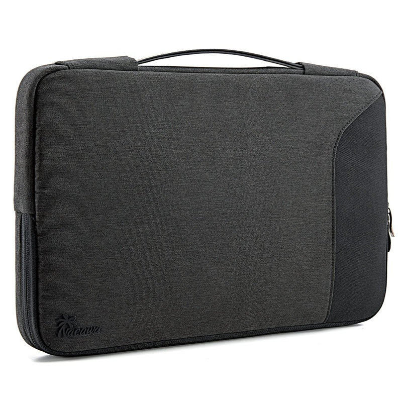 Nacuwa 360° Protective Laptop Sleeve Bag For 13-13.3 Inch MacBook Air/MacBook Pro Retina Late 2012-Early 2016,For IPad Pro 12.9