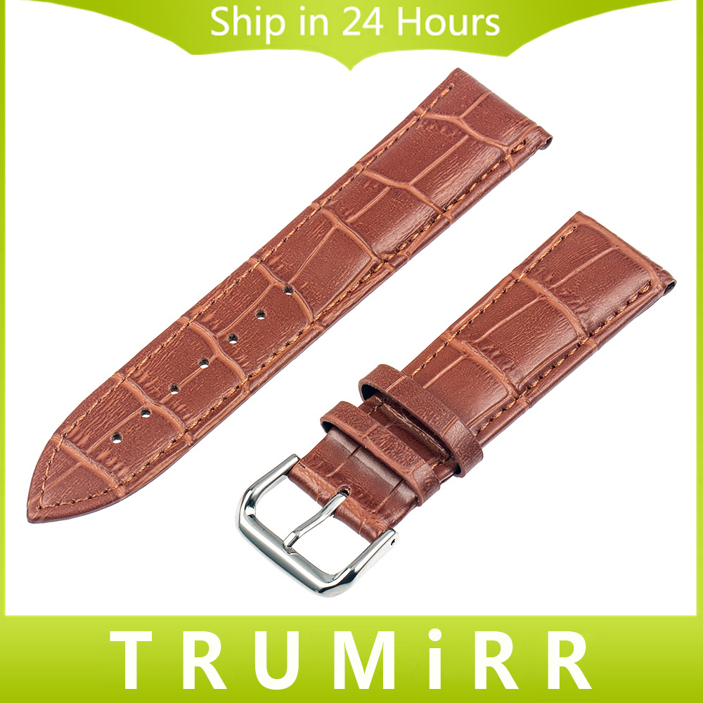 Genuine Leather Watchband + Tool for Mido Baroncelli Watch Band Wrist Strap Alligator Grain Bracelet 14mm 16mm 18mm 20mm 22mm 16mm 18mm 20mm full ceramic watchband for timex weekender expedition watch band wrist strap link bracelet upgraded tool pin
