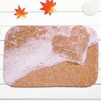 Latest Design Love Home Bedroom Beach Front Slip Mats Carpet