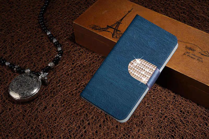 หรูหราพลิกโทรศัพท์ที่ครอบคลุมกรณีสำหรับDoogee X10 X 10 5.0นิ้วกรณีม้าบ้าปกแข็งบัตรหนังPUสล็อตซองที่อยู่อาศัยถุง