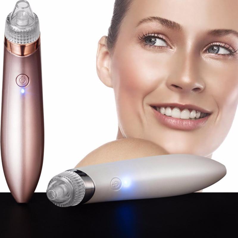 Electric Mini Handheld Dead Skin Acne Vacuum Suction Blackhead Remover Face Lifting Skin Tightening Rejuvenation Beauty Machine
