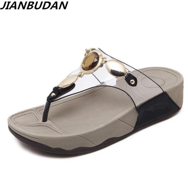 Sandalen Hausschuhe Weibliche Sommermode Flache Schuhe Clip Toe Rutschfeste Strandschuhe