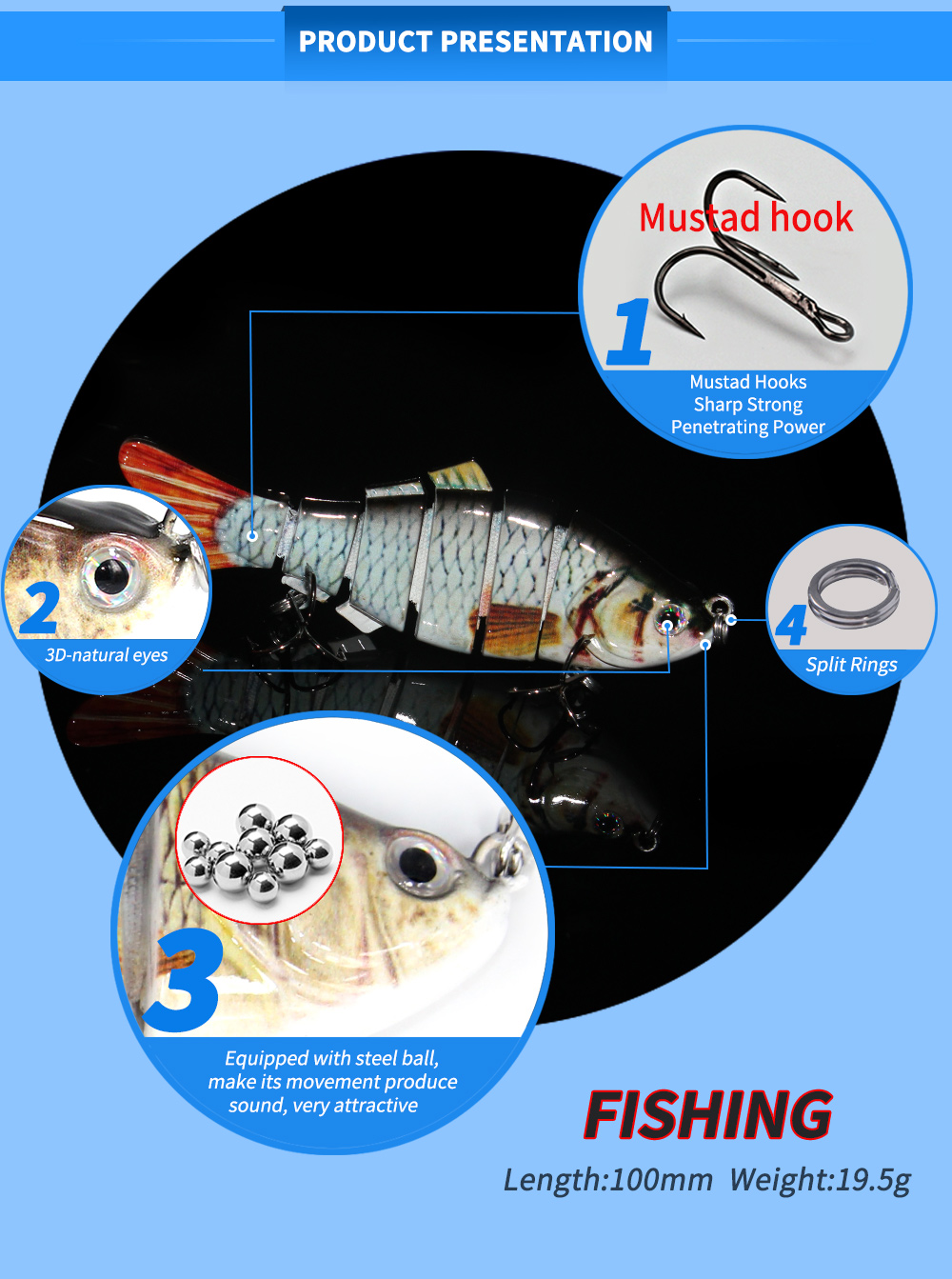 Swimming Fishing Lures