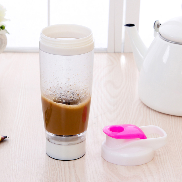 600ml Electric Automation Protein Shaker Blender My water Bottle Automatic Movement Outdoor Tour Coffee Milk Mixer