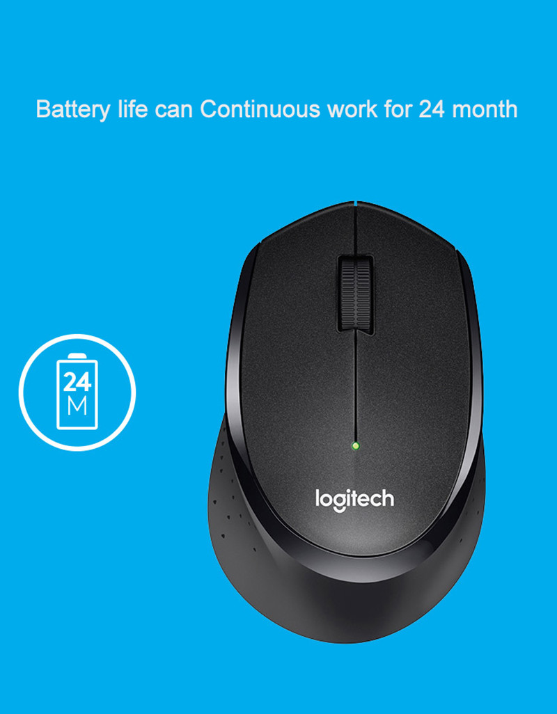 Logitech M330 Silent Plus Wireless Large Mouse In Mice From Computer Wireles M331 M 331 Replace M280 1 2 3 41