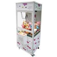 Электрический захват клип куклы большой кран машина кукла Catcher грейфер автомат Монета работает игровой автомат аркадная игровая консоль