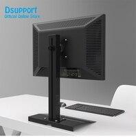 L127 Full Rotation 13 27 single Screen Monitor Holder LCD TV Mount Desktop Stand Base