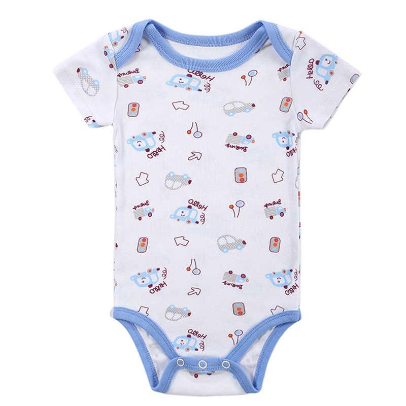 תינוק Rompers בגדי 2017 אופנה קיץ יילוד תינוק ילד Gril אחד-חתיכות תינוק סט barboteuse בגדי Nightwear תינוק פיג 'מה