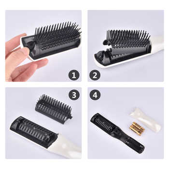 US Stock Electric Infrared Laser Hair Growth Comb Hair Care Styling Hair Loss Growth Treatment Infrared Device Massager Brush