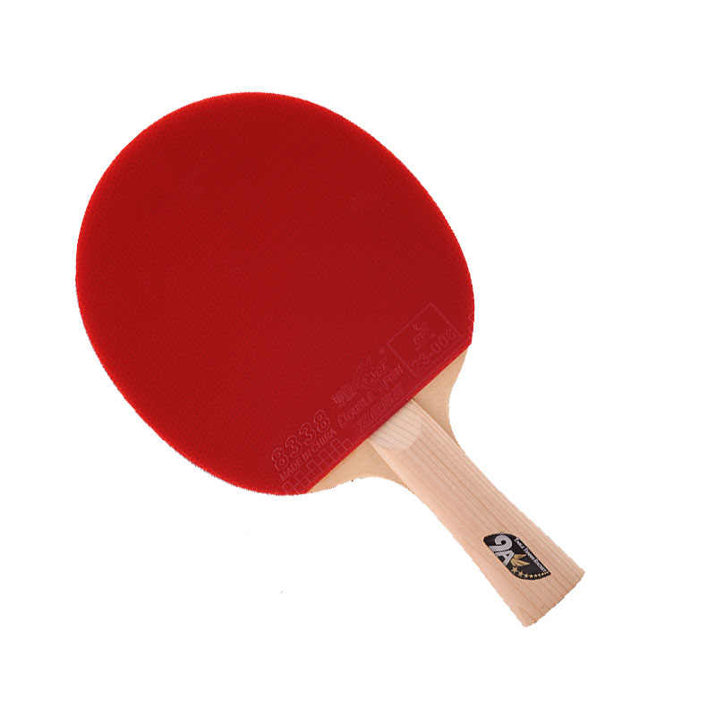 Double fish9A Dual carbon fiber table tennis racket 7 PLY layers blade long handle horizontal grip table tennis paddle offensive