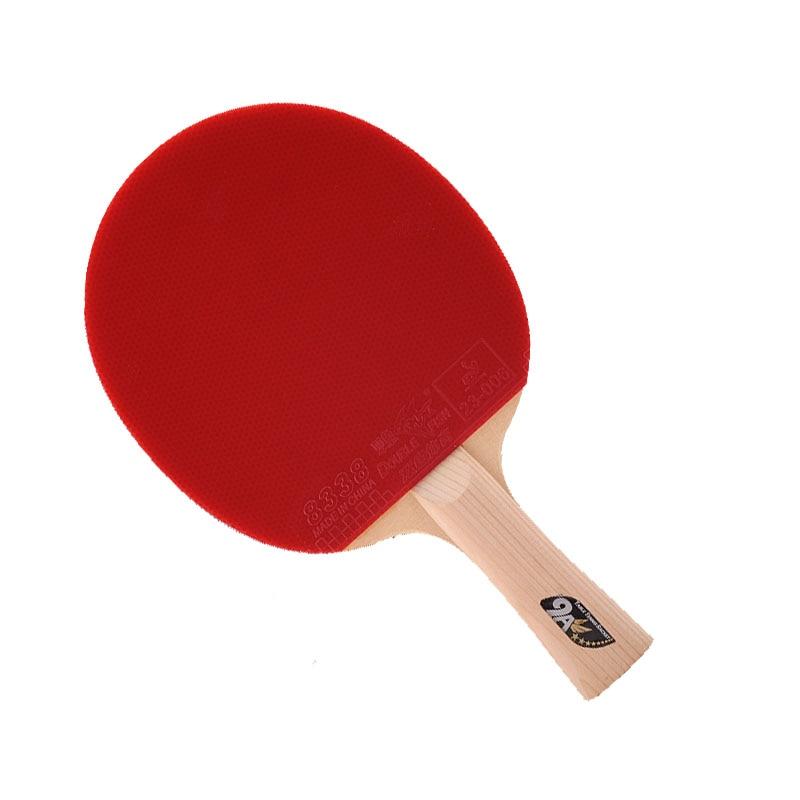 Double fish9A Double en fiber de carbone tennis de table raquette 7 PLIS couches lame longue poignée poignée horizontale tennis de table paddle offensive