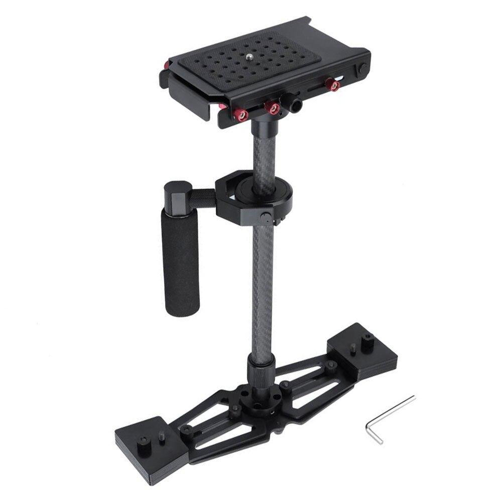 bilder für 2016 neue professionelle Steadycam 40-67 cm Kohlefaser DSLR Kamera Handheld Stabilisator Steadicam Black Carbon Fiber Für Kameras