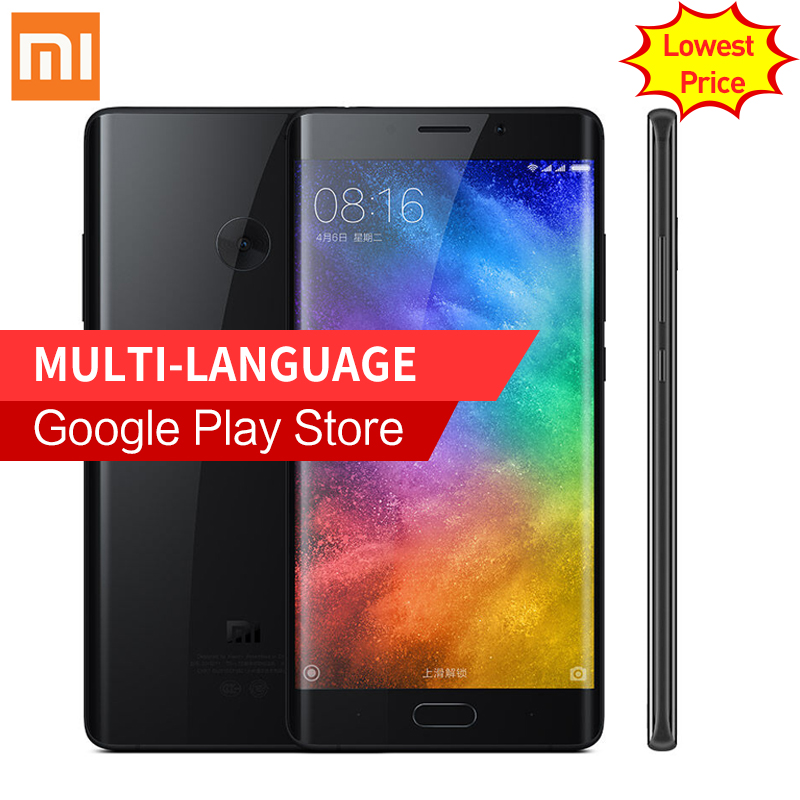 "Original Xiaomi Mi Note 2 Prime 6GB RAM 128GB ROM Mobile Phone Dual 3D Glass Snapdragon 821 5.7"" Flexible Display"