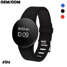 D3 smart sports bracelet smart wear health Bluetooth pedometer waterproof watch male