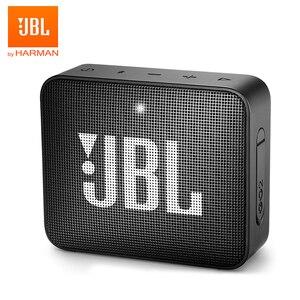 Image 1 - JBL GO2 Беспроводная Bluetooth Колонка IPX7 Водонепроницаемая наружная Портативная колонка s Sports Go 2 перезаряжаемая батарея с микрофоном