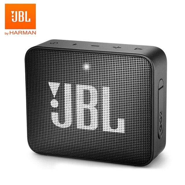 JBL GO2 Беспроводная Bluetooth Колонка IPX7 Водонепроницаемая наружная Портативная колонка s Sports Go 2 перезаряжаемая батарея с микрофоном