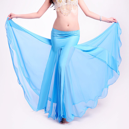 Hot Sale Free Shipping High Quality New Bellydancing Skirts Belly Dance Skirt Costume Training Dress Or Performance -6021
