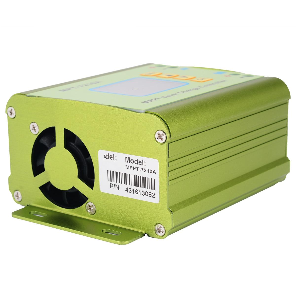 Mppt controlador de carga do painel solar