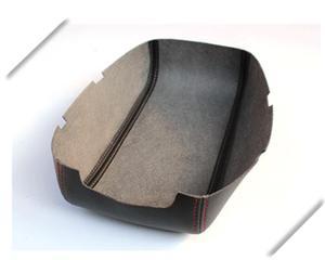 Image 5 - Customzied Microvezel Leer Center Armsteun Cover Voor Mitsubishi ASX Auto decoratie Interieur upgrade