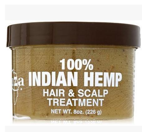 KUZA Indian Hemp Hair and Scalp Treatment 8oz aqua mineral infudra nourishing scalp treatment
