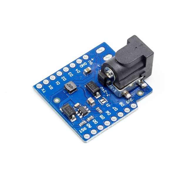 DC Power Shield V1.1.0 for WEMOS D1 mini