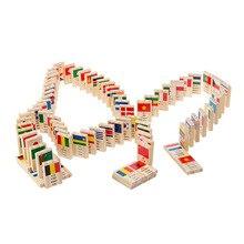 100 шт деревянные настольные игрушки игра раннего обучения познавательное образование игрушки