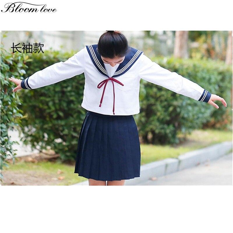 Preppy Japanese School Girl Student Class Wear JK Lolita high school uniform designs OY-G1038