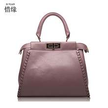 XIYUAN BRAND 2017 Hot sale Women handbag FEMALE leather bags New winter Large space bags tote New GRAY/BLACK/PURPLE/RED