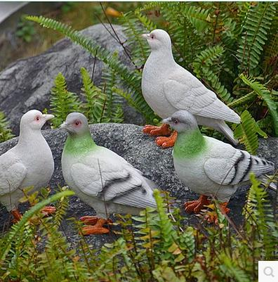 Smole ptičje obrti, simulacijski golob, vrtni okraski, vrtna - Dekor za dom - Fotografija 4