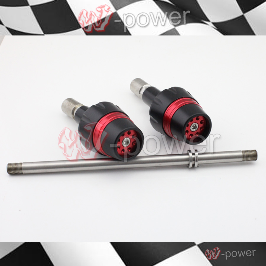 For ducati monster 695 696 796 1100 / s / evo 1200 m400 m600 m620 motorcycle crashpad crash protection coils falling protection
