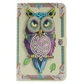 For Samsung Galaxy Tab E 9.6 T560 T561 Owl  PU Leather Tablet Stand Case For Samsung Galaxy Tab S2 T715 T815 Tab S T700 T800 H